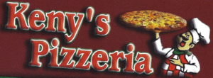 Carte d'affaire de la pizzeria Keny's.