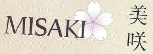 Carte d'affaire du restaurant misaki.