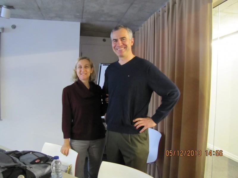Anne Pelletier et Luc concepteurs web