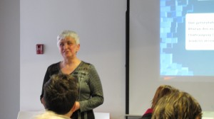 Huguette Roussel, présidente du RUTAC, Cliquer pour voir en grand et pour avoir accès à une description