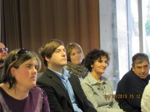 Participants au lancement du Guide d'accessibilité, Cliquer pour voir en grand et pour avoir accès à une description