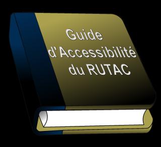 Logo du guide d'accessibilité.